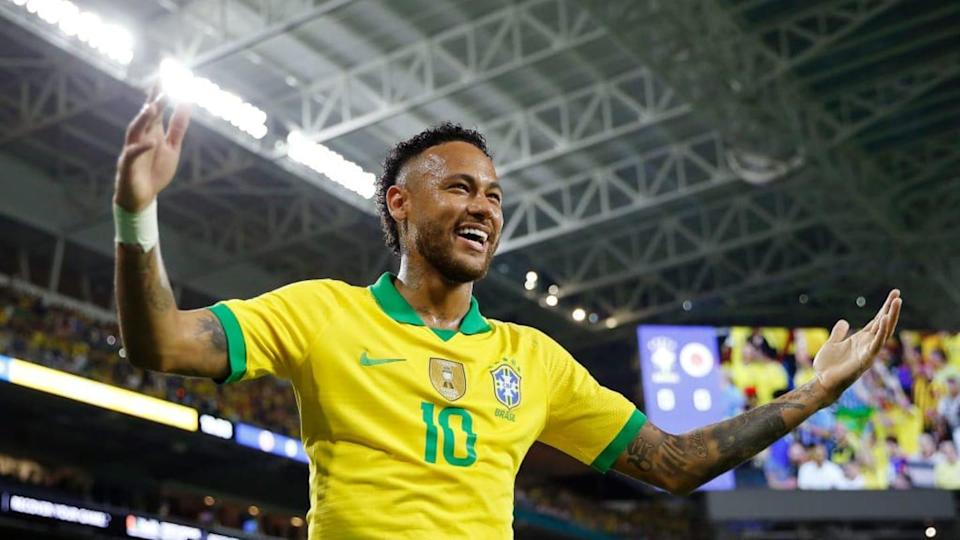Brazil v Colombia - Neymar ya sabe lo que es convertirle a Colombia.   Michael Reaves/Getty Images