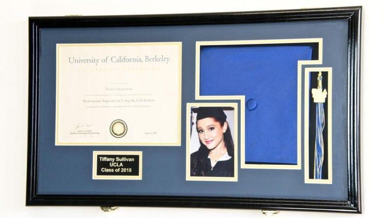 Best Graduation Gifts for Him: Diploma frame