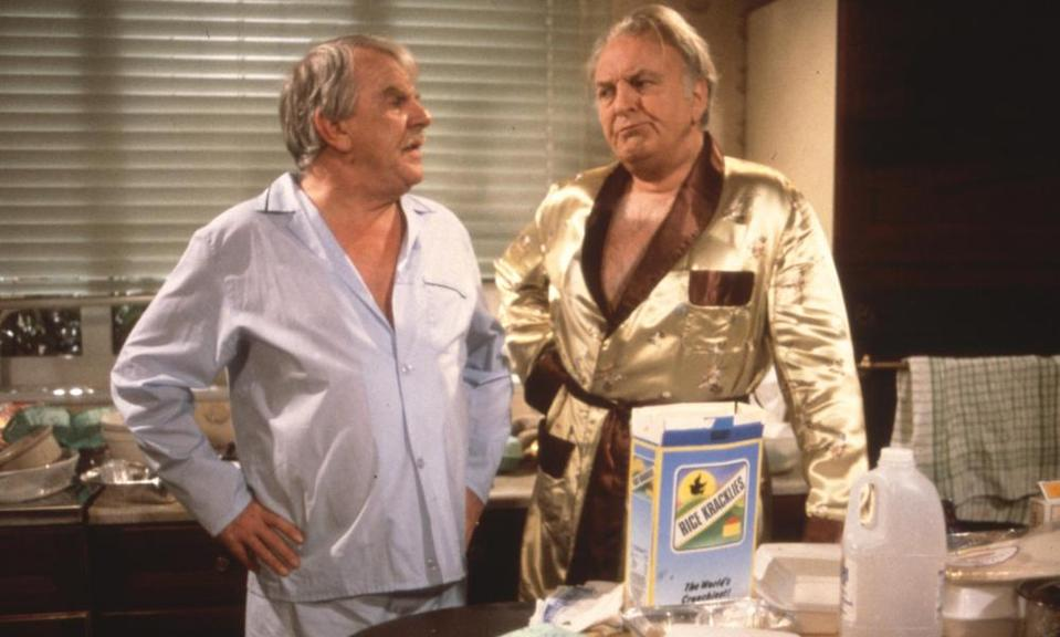 Pyjama party ... Never the Twain, on Forces TV.