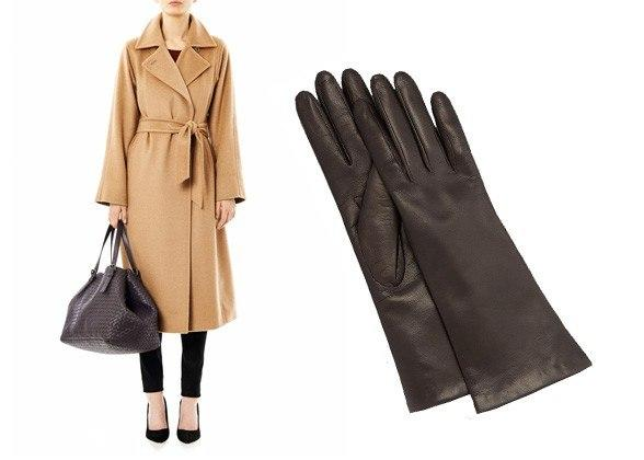 """<div class=""""caption-credit""""> Photo by: Courtesy of Retailers</div><div class=""""caption-title""""></div>The Camel Trench Coat manuela coat, $1,470, max mara, matchesfashion.com; four-button leather gloves, $135, portolano, neimanmarcus.com <br> <b>More from <i>Lucky</i>:</b> <br> <b><a rel=""""nofollow"""" target="""""""" href=""""http://www.luckymag.com/beauty/2011/12/40-Drugstore-Classics?mbid=synd_yshine"""">The 40 Best Drugstore Beauty Products</a> <br> <a rel=""""nofollow"""" target="""""""" href=""""http://www.luckymag.com/blogs/luckyrightnow/2012/09/50-Unique-Engagement-Rings?mbid=synd_yshine"""">50 Unique Engagement Rings</a></b> <br>"""