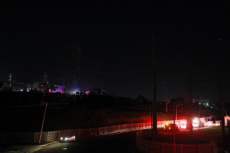 The blackout comes five months after two hurricanes destroyed Puerto Rico's electricity network