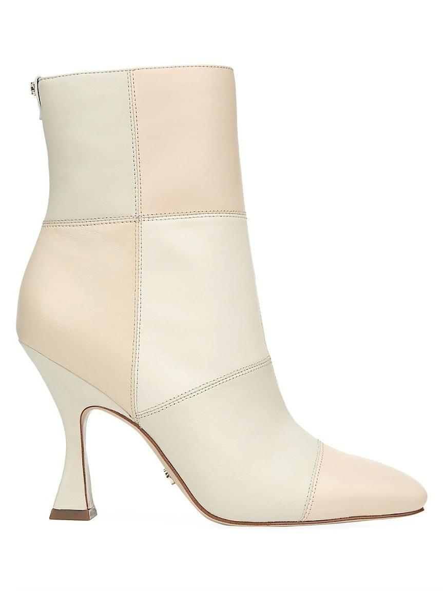 <p><span>Sam Edelman Olina Square-Toe Patchwork Leather Ankle Boots</span> ($180)</p>