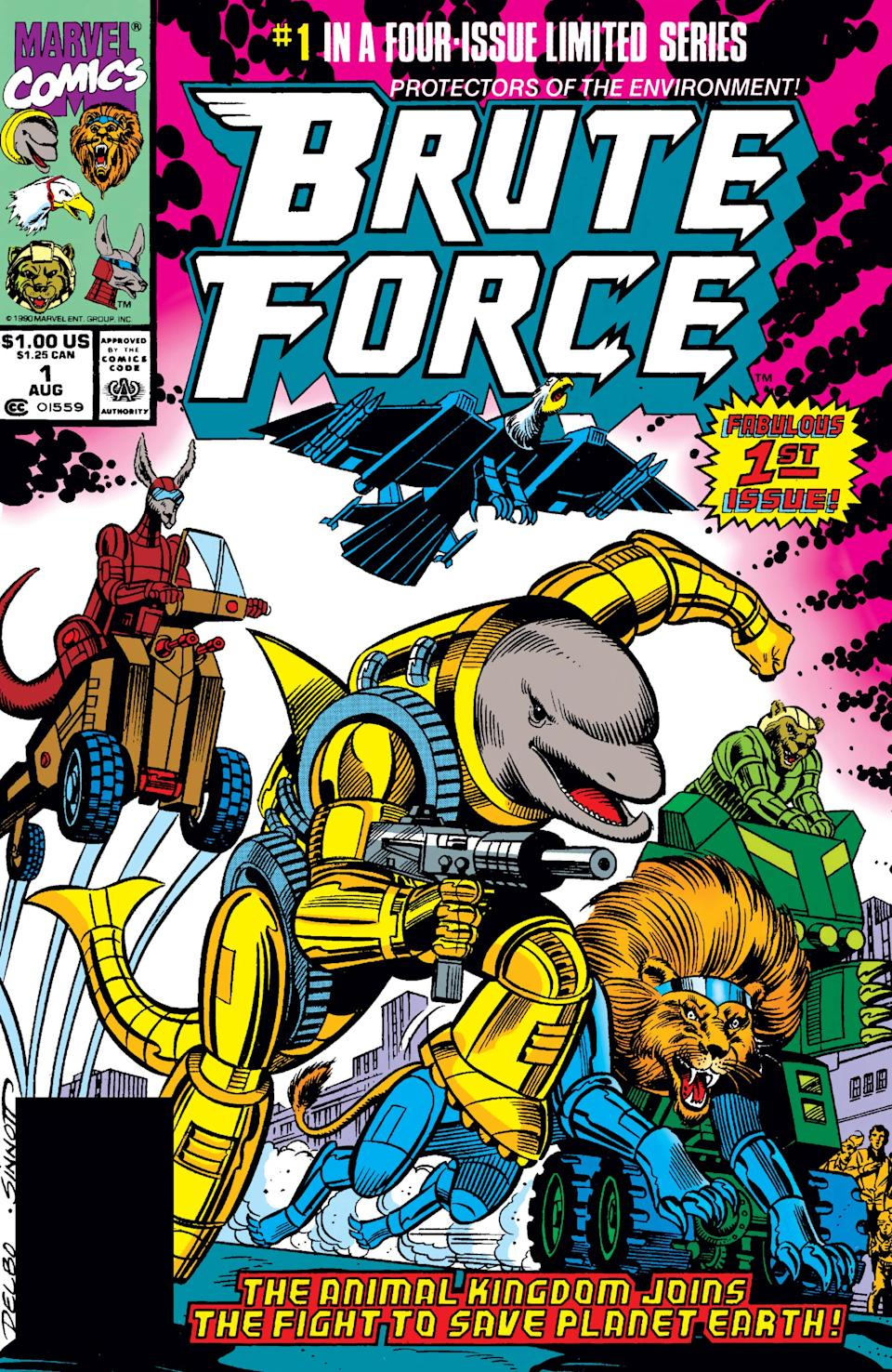 The cover of 'Brute Force' #1 (Photo: Marvel Comics)