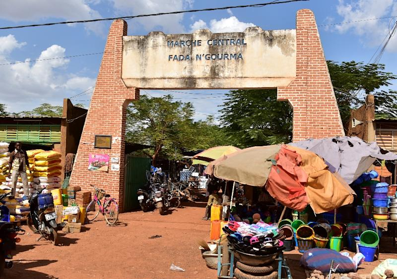Traders in Fada N'Gourma, a city in the east of Burkina Faso, say the violence has created an atmosphere of fear, with fewer people visiting the markets (AFP Photo/ISSOUF SANOGO)