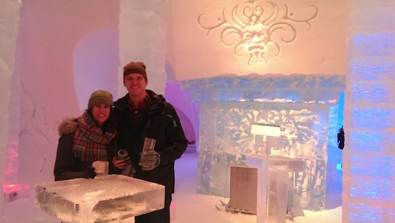 Canadian Ice Hotel Welcomes Cold-Loving Guests