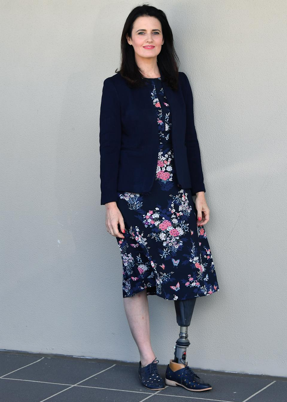 Disability advocate Ali France