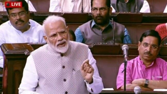 Replying to the motion of thanks in the Rajya Sabha, PM Modi read out an Urdu couplet and attributed it to Ghalib, which the 19th-century poet did not compose.