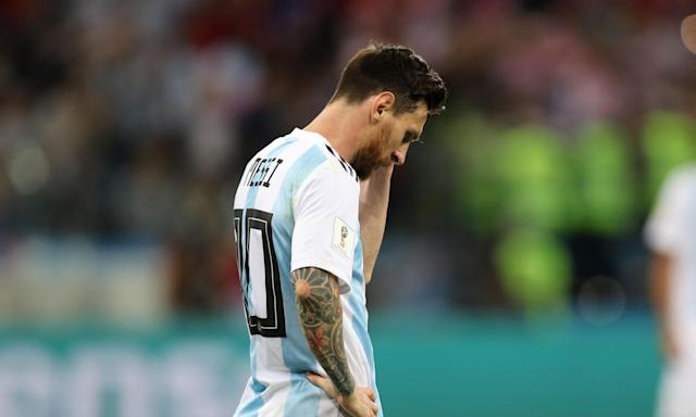 Lionel Messi was 'completely absent and disconnected' during Argentina's defeat by Croatia.
