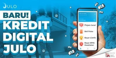 Indonesian Fintech JULO launches digital credit enables cash and non-cash transaction, including e-commerce payment, utilities bill, phone credit and e-wallet top up.