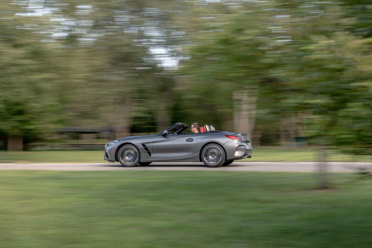 """<p>From our prior experience with the entry-level Z4 sDrive30i, when it lost to the <a href=""""https://www.caranddriver.com/porsche/718-boxster"""" target=""""_blank"""">Porsche 718 Boxster</a> in a comparison test, we know that the BMW is a highly athletic and agile roadster in need of better steering and either more power or less mass.</p>"""