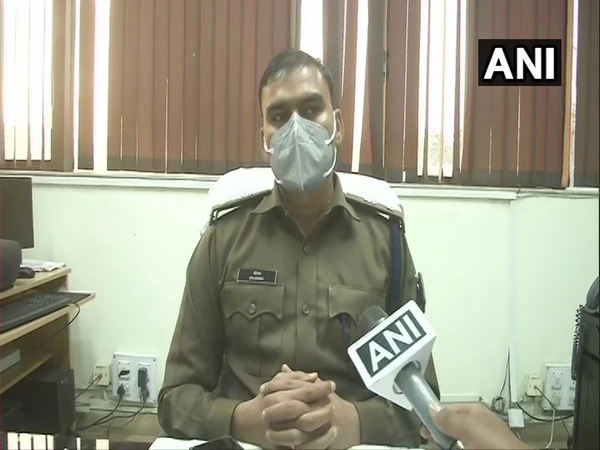 SP Saurabh speaking to ANI in Ranchi on Thursday.