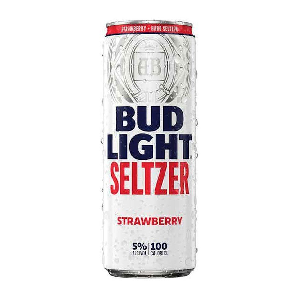 """<p>drizly.com</p><p><a href=""""https://go.redirectingat.com?id=74968X1596630&url=https%3A%2F%2Fdrizly.com%2Fbeer%2Fspecialty-beer-alternatives%2Fhard-seltzer%2Fbud-light-seltzer-strawberry%2Fp100567&sref=https%3A%2F%2Fwww.cosmopolitan.com%2Ffood-cocktails%2Fg36596713%2Fbest-hard-seltzers%2F"""" rel=""""nofollow noopener"""" target=""""_blank"""" data-ylk=""""slk:BUY IT HERE"""" class=""""link rapid-noclick-resp"""">BUY IT HERE</a></p><p>It's surprising that strawberry is a bit of an outlier flavor, especially amongst the most popular purveyors. Bud Light nails its fresh strawberry nose (a quick whiff transports you to a bramble) and eases up just enough on the sweetness to avoid any artificial aftertaste. <br><strong><br>Crushability</strong>: 4<br><strong>Craveability:</strong> 4.5<br><strong>Creativity: </strong>3.5<strong><br>Overall:</strong> 12<br><br><strong>Calories:</strong> 100<strong><br>Sugar:</strong> <span><strong>ABV:</strong> 5%</span></p>"""