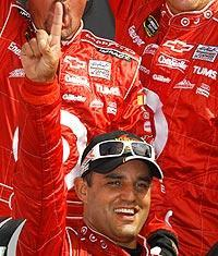 Juan Pablo Montoya has two career Cup wins – both on road courses