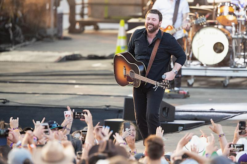 As part of South Dakota's Sportsmen's Showcase, country singer Chris Young was also going to give a concert, but that has been canceled. (Photo: Mat Hayward via Getty Images)