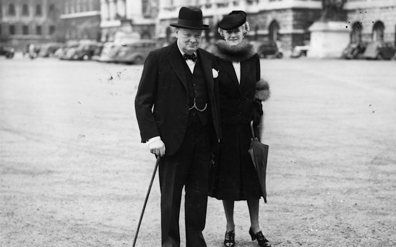 Winston Churchill - Credit: H. F. Davis /GettyImages