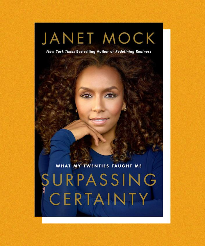 In her second memoir, <em>Surpassing Certainty</em>, Janet Mock discusses her teen years in Hawaii as a girl working nights as a dancer at a strip club, and dreaming of becoming a writer. There, she meets her first love, Troy, and begins making her way through the world as a trans woman of color. Her relationship is rocky and it takes years for Mock to disentangle fully from Troy, but she uses the pain of the experience to advocate for others and find success for herself — professionally and personally.