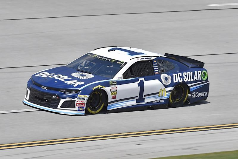 Ganassi's McMurray escapes huge Talladega NASCAR practice crash