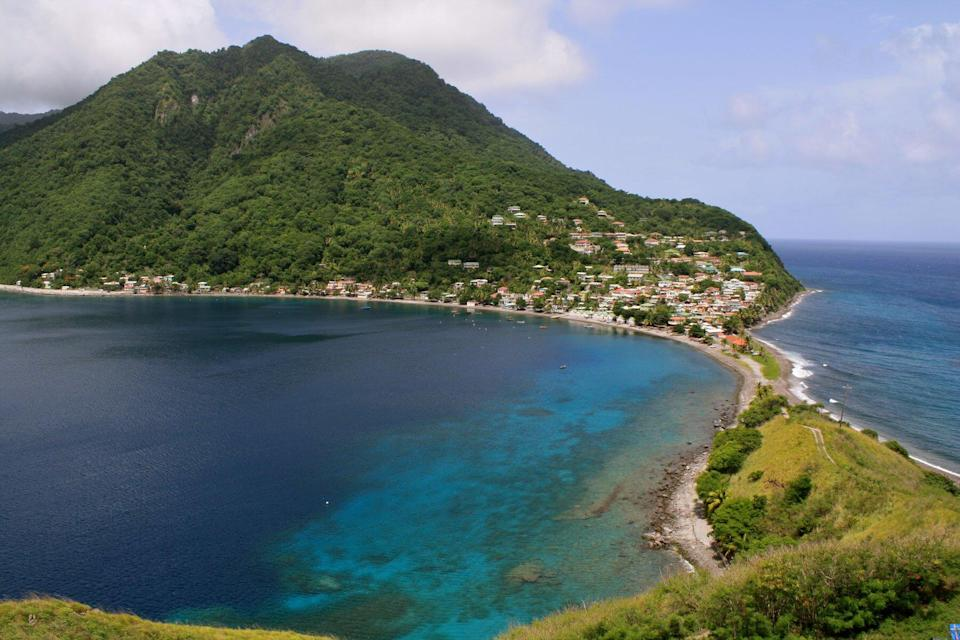 Dominica from hike