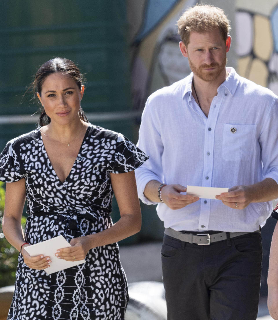 Prince Harry The Duke of Sussex and Meghan The Duchess of Sussex visit Cape Town, South Africa.