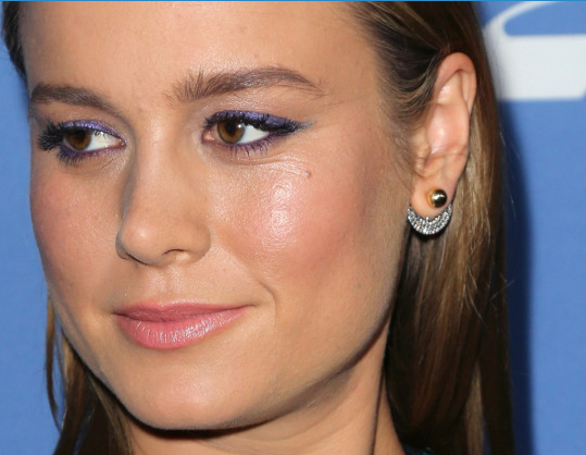 Brie Larson isn't afraid to show the world what's underneath her Hollywood makeup. (Photo: Getty Images)