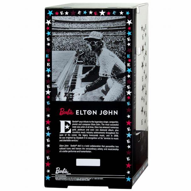 PHOTO: A new Elton John Barbie doll has been created to mark the 45th anniversary of his legendary 1975 concerts (Mattel)