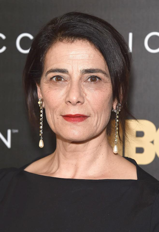 """<p>Legendary Israeli Arab actress and director Hiam Abbass returns as Marcia """"Marcy"""" Roy, third and current wife of Logan. </p>"""