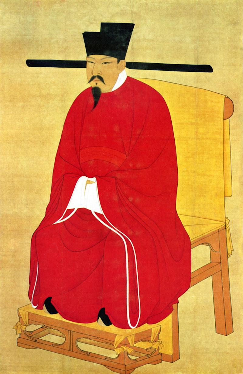 Emperor Shenzong | Pictures from History—Bridgeman Images