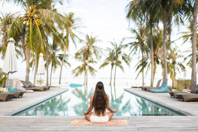 The coronavirus pandemic has affected the wellness tourism industry. (Getty Images)