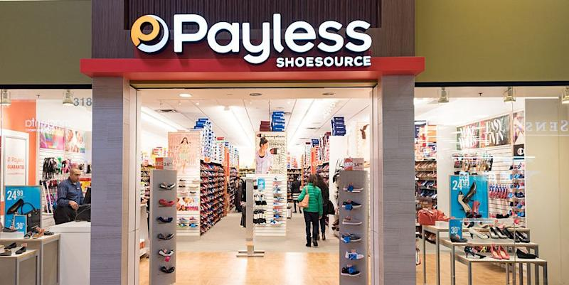 Woman buys out closing Payless store, donates shoes to kids in need