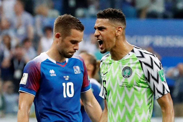 Soccer Football - World Cup - Group D - Nigeria vs Iceland - Volgograd Arena, Volgograd, Russia - June 22, 2018 Iceland's Gylfi Sigurdsson reacts after he missed a chance to score from the penalty spot REUTERS/Jorge Silva