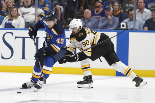 NHL Suspends Blues' Ivan Barbashev for One Game for Illegal Check
