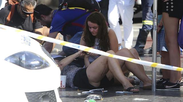 <p>At least 13 people have died after a van was driven through Barcelona's tourist packed Las Ramblas. </p>