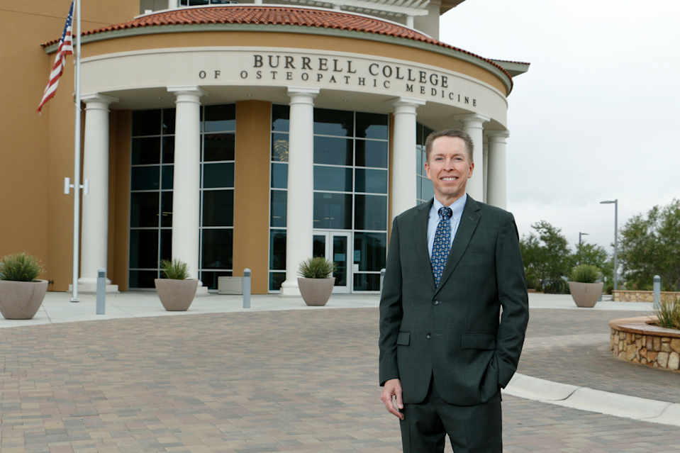 Physician William Pieratt is the dean and chief academic officer of the Burrell College of Osteopathic Medicine in Las Cruces, N.M.
