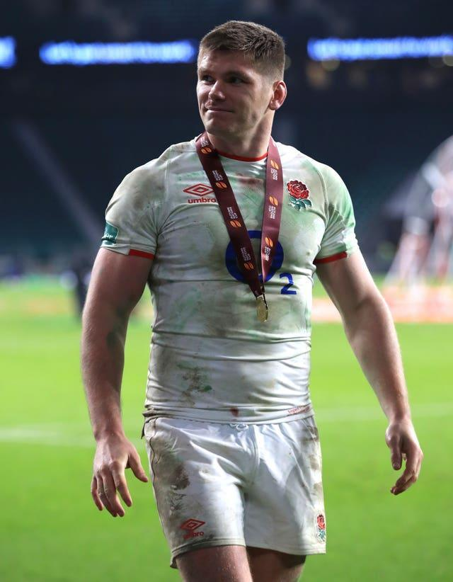 Owen Farrell (pictured) is viewed by Paul O'Connell as the right man to lead the Lions