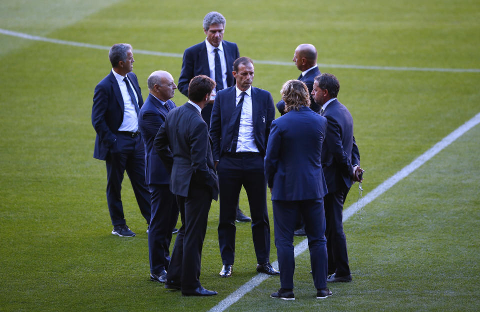 Allegri isn't short of offers as he ponders his next move.