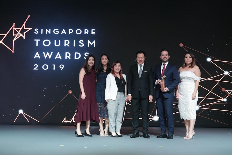 Best Hotel Experience goes to Andaz Singapore. (PHOTO: Singapore Tourism Board)