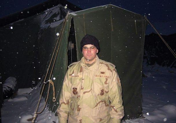 PHOTO: A photo of Capitol Police officer Brian Sicknick in 2003 while deployed with the New Jersey National Guard in Kyrgyzstan. (New Jersey National Guard)