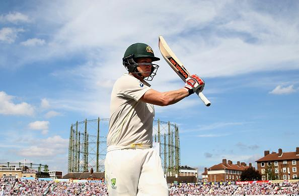 England v Australia: 5th Investec Ashes Test - Day Two : News Photo