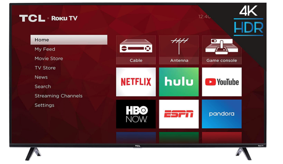 affordable flat screens tcl 4 series