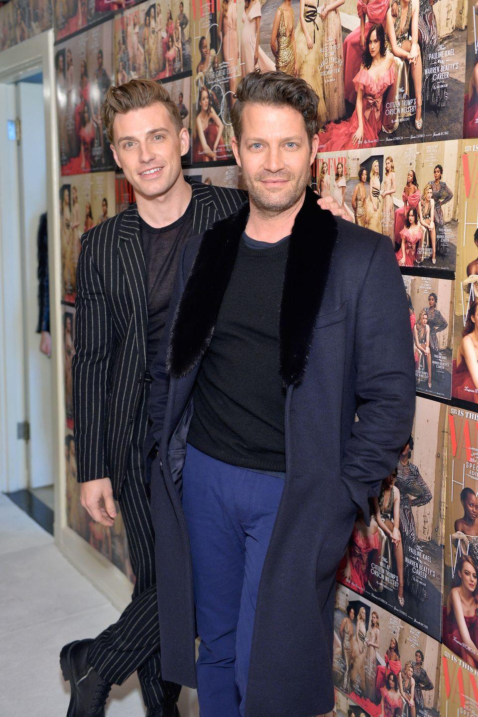 """<p>The interior designer husbands (and dads to daughter Poppy) look like older and younger versions of the same man. (<span class=""""redactor-unlink"""">Berkus</span> is 46 years old, if you can believe it.)</p>"""