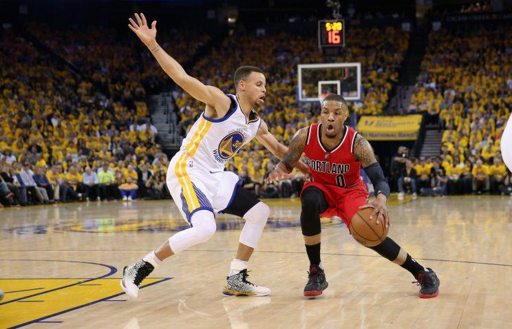 Damian Lillard is ready to face the NBA's best again this season. (Getty Images)