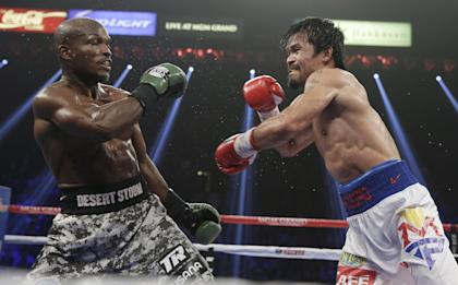 Many future champions like Timothy Bradley [L] have fought on ShoBox cards. (AP Photo)