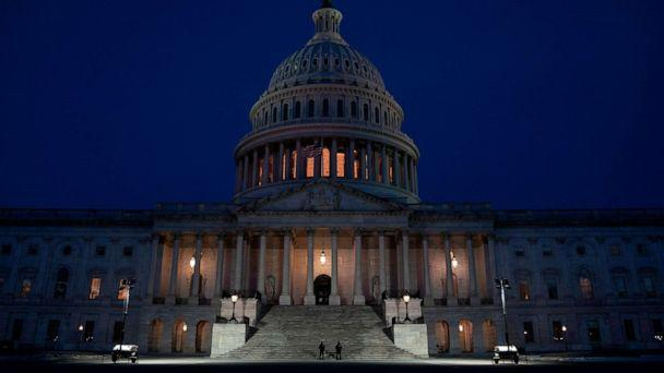 PHOTO: The U.S. Capitol Building is seen at sunrise on Feb. 3, 2021, in Washington, D.C. (Alex Edelman/AFP via Getty Images, FILE)