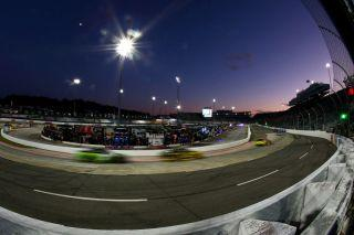 A glimpse at what Martinsville Speedway will look like at night. (Photo by Sarah Crabill/Getty Images)