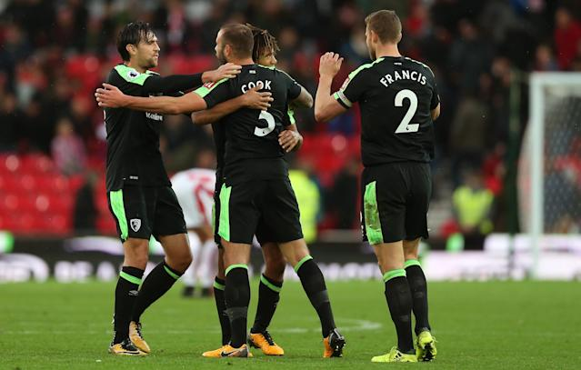 Our back line was truly heroic in the second half, having to repel constant waves of Stoke attacks with little respite.
