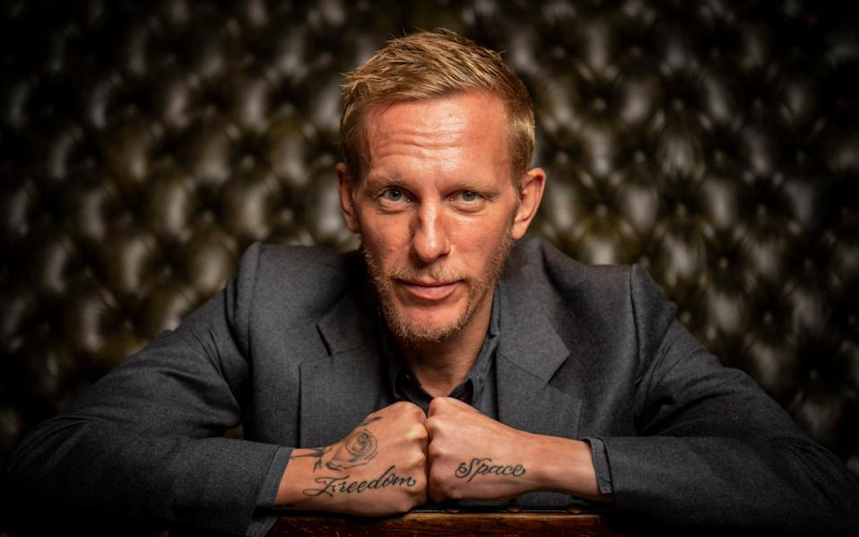 Laurence Fox at the Red Lion pub in Westminster - Paul Grover for the Telegraph