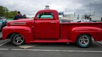 """<p>Ford unveiled a new generation of trucks in 1948 with its F-Series — originally called the """"Bonus Built"""" line. Ford had sold more than 4 million trucks by 1941, so there was plenty of demand. Production of consumer vehicles was temporarily halted during World War II but picked back up again when the war ended. The F-Series borrowed design cues from existing Fords.</p> <p>A number of configurations were available within the F-Series, from the half-ton F-1 all the way up to a 3-ton F-8. In 1953, Ford introduced the second-generation F-Series, including the F-100, which replaced the F-1. The F-Series was part of Henry Ford's plan to offer a heavy-duty frame that could fit a bed. That idea worked then <em>and</em> now; as of November 2018, the F-Series had been the bestselling pickup in the U.S. for 36 years, Business Insider reported.</p>"""