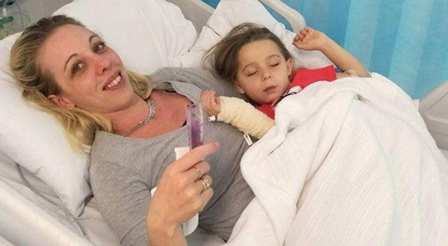 The family have started a GoFundMe page to raise money for hospital and travel costs for treatment. Photo: Supplied