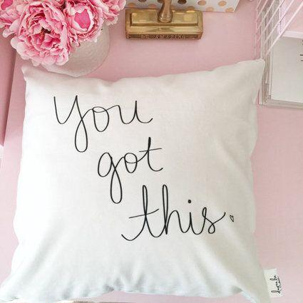 """<strong>Price:</strong> $50.73 <a href=""""https://www.etsy.com/listing/202433346/you-got-this-18-hand-lettered-empowering?ref=market"""" target=""""_blank"""">Order it on Etsy.</a>"""