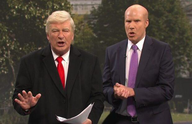 'SNL': Will Ferrell's Gordon Sondland Shows Up to Ruin Things for Alec Baldwin's Trump (Video)